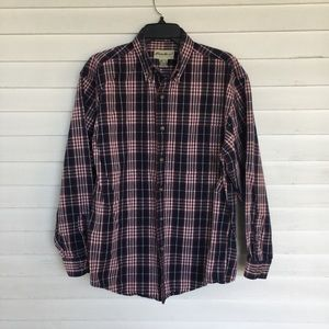 Eddie Bauer men's cotton flannel shirt